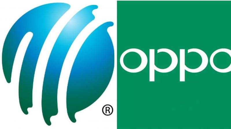 Smartphone makers OPPO on Thursday announced the extension of its partnership with the International Cricket Council (ICC) for another four years till September 2023. (Photo: Website/ ICC & OPPO)