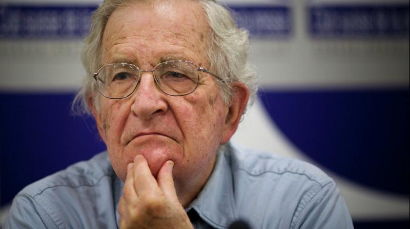 Noam Chomsky (Photo: AP)