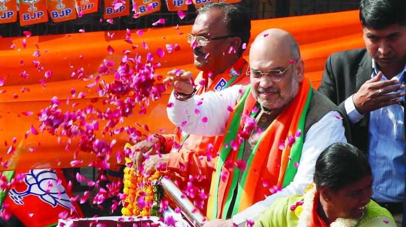 The three-phased Rath yatra, also being called the 'Save Democracy Rally', was scheduled to be held this month and cover all the 42 Lok Sabha constituencies. The rallies were to be flagged off by BJP president Amit Shah. (Photo: File)