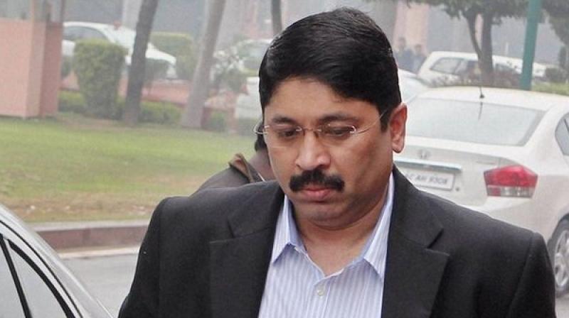 Former Union communications minister Dayanidhi Maran (Photo: PTI)