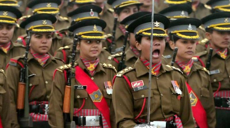 It said that these women in uniform also exhibited the tremendous potential of 'Nari Shakti'. (Photo: Representational | PTI)