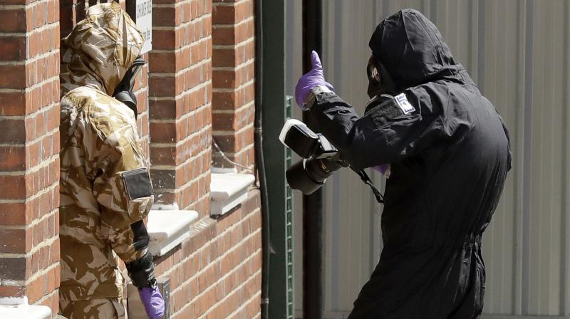 Two Britons fell ill in June after being exposed to Novichok in the same region of southwest England, but police have not been able to establish whether the toxin was from the same batch used against the Skripals. (Photo: AP)