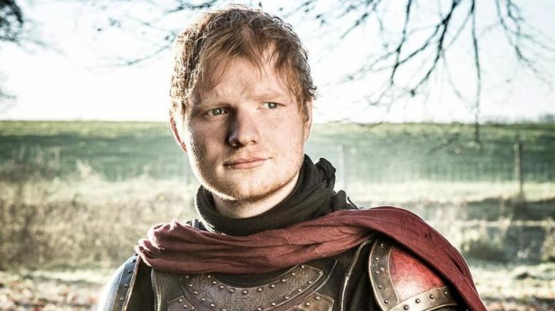 Ed Sheeran strikes a cameo in the popular winter season 7 of 'Game of Thrones.'