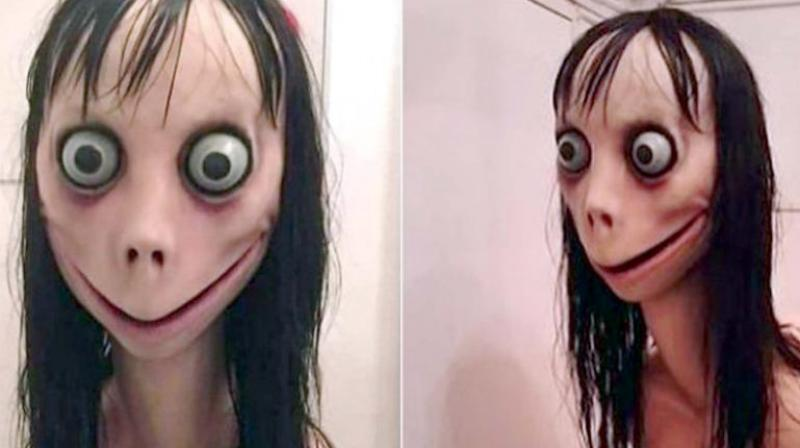 Momo is a social media account on WhatsApp, Facebook, and YouTube, which uses the image of a horror artwork to induce curiosity among children, challenging them to communicate with an unknown number. (Representational Image)