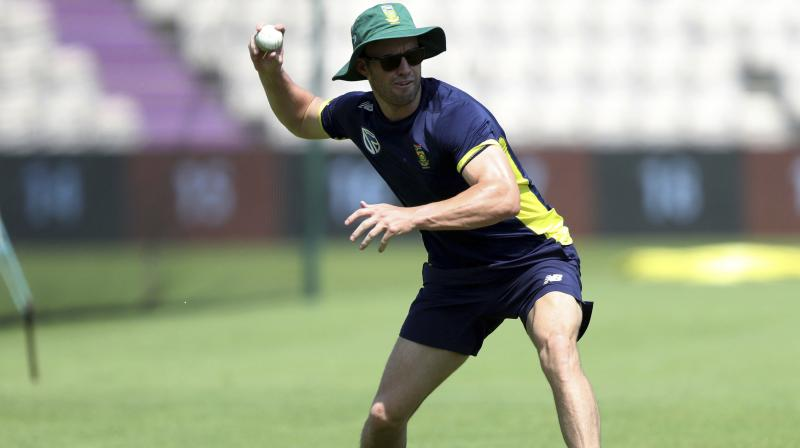 De Villiers also reiterated his ambition to win the 2019 World Cup in England, however, adding the same is dependent on how the discussion with CSA went. (Photo: AP)