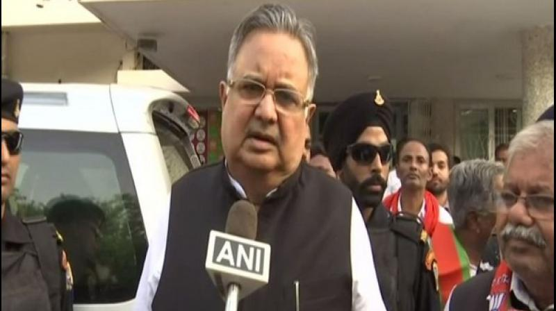 Former Chhattisgarh chief minister Raman Singh has demanded that the government should take into consideration religious beliefs before implementing any such decision. (Photo: ANI)