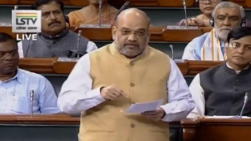 He said terror attacks witnessed an uspurge after the Prevention of Terrorism Act (POTA) was repealed resulting in the same UPA government being forced to constitute NIA after the Mumbai attacks. (Photo: Twitter | ANI)