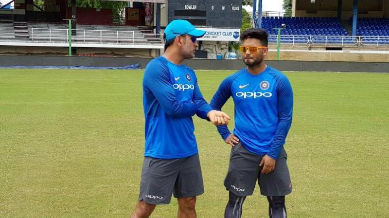 Despite being given ample opportunities, Pant has been unsuccessful to cement his spot in the Indian side. (Photo: Twitter/BCCI)