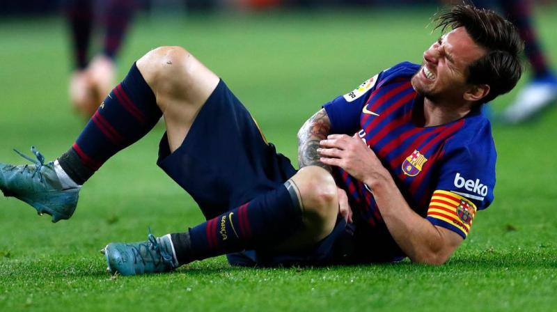 Barcelona defeated Villarreal 2-1 in the La Liga fixture in which Messi made his first start of the season after sustaining a calf injury. (Photo: AP)