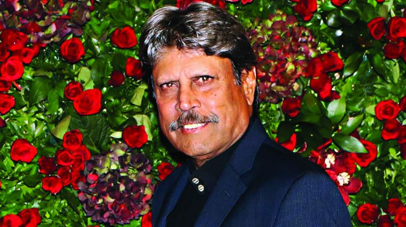 Former captain Kapil Dev