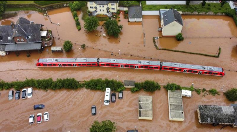 On the heels of deadly floods in India, China and northern Europe as well as asphalt-melting heatwaves in North America and southern Europe, the IPCC's report is the first so-called assessment report since 2014. (Representational image: AP)