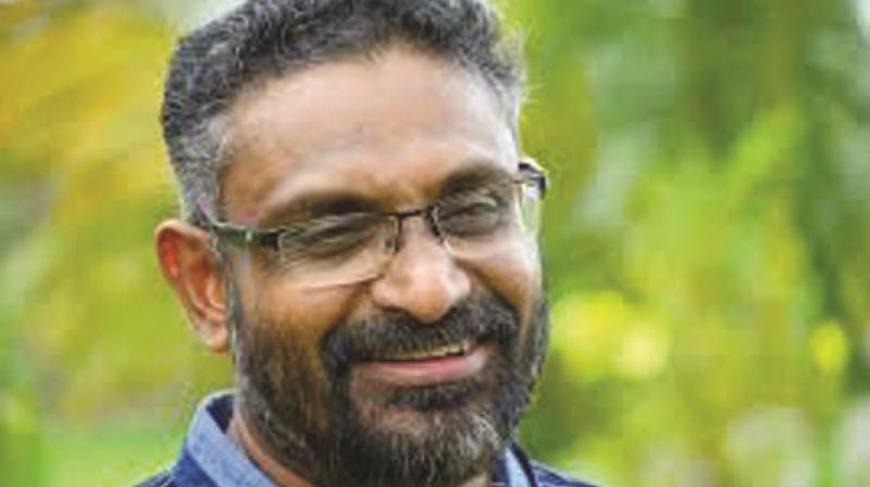 Malayalam novelist Benyamin