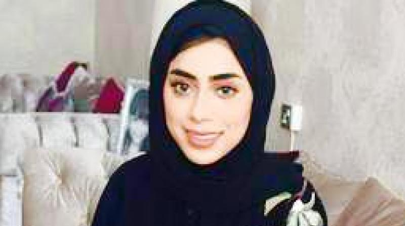 Jawaher Saif Al Kumaiti, 22, was driving home after visiting a friend in a hospital (Photo: Facebook)