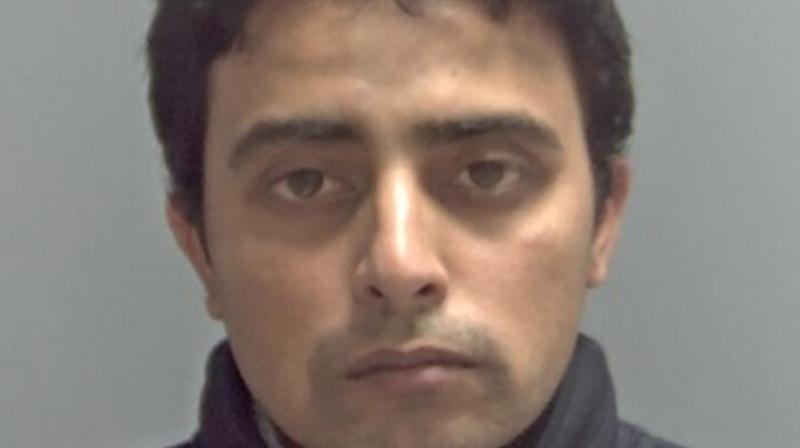 Ajay Rana, 35, was found guilty of raping the woman in the back of his housemate's car in the town of Lowestoft in Suffolk, eastern England, after offering her a lift on December, 9, 2017. (Photo: Suffolk Police)