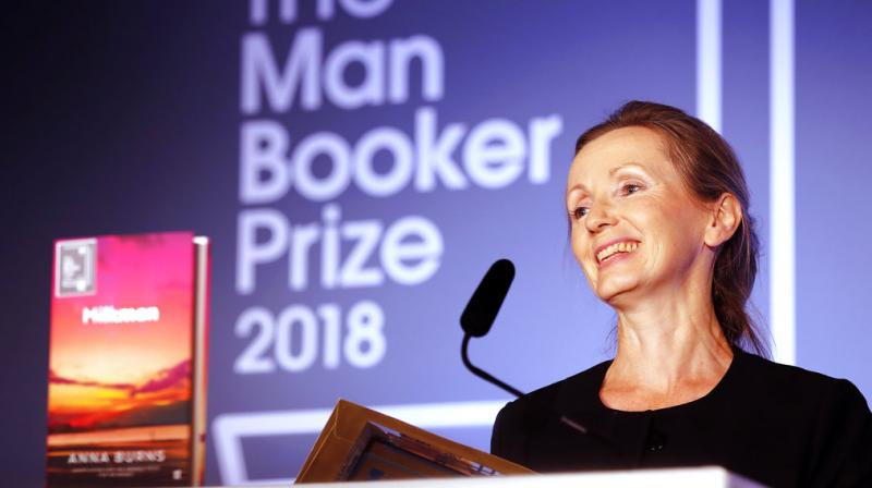 Burns is the first Briton to win the prize since Man Booker began permitting authors of any nationality, writing in English and published in UK and Ireland. (Photo: AP)
