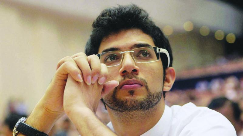 Yuva Sena chief Aaditya Thackeray (Photo: File)