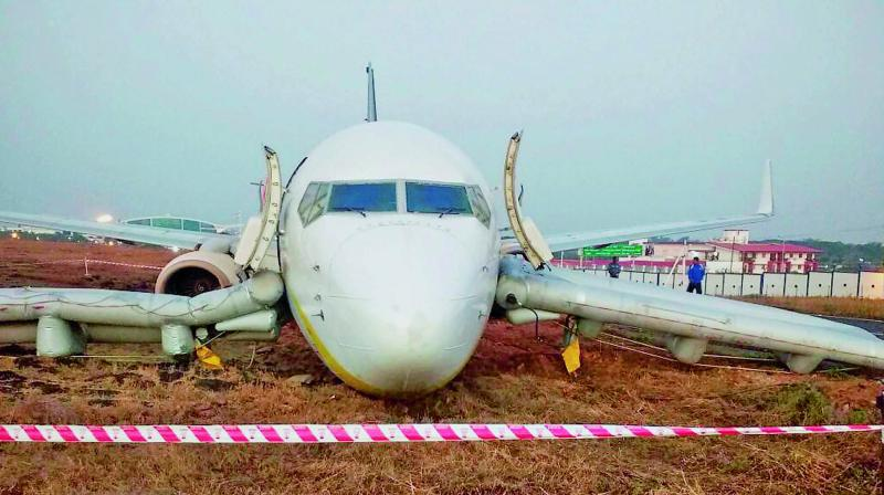 Five of the passengers sustained minor injuries without any serious threats, while remaining passengers and the crew members were safe. (Representational   PTI)