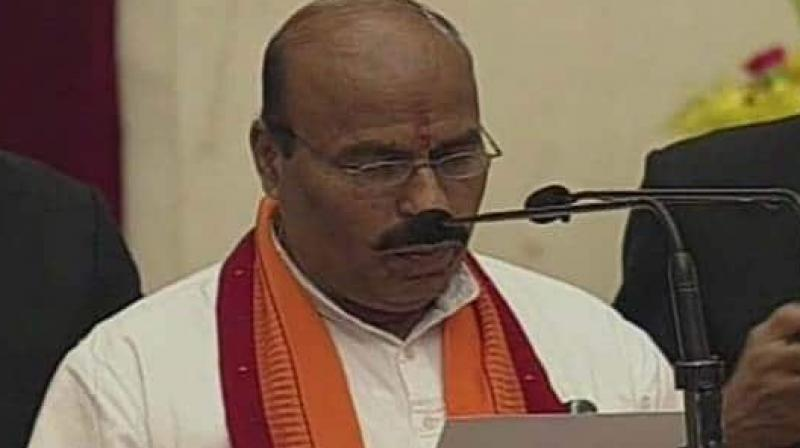 As the interim speaker, he will administer the oath of office to newly elected Lok Sabha members and also preside over the first meeting of the Lok Sabha, in which the Speaker will be elected. (Photo: ANI)