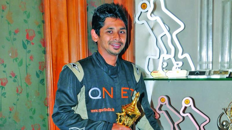 Champion racer Chetan Korada has proved that an amputation can be a hurdle but it cannot stop one's willpower.
