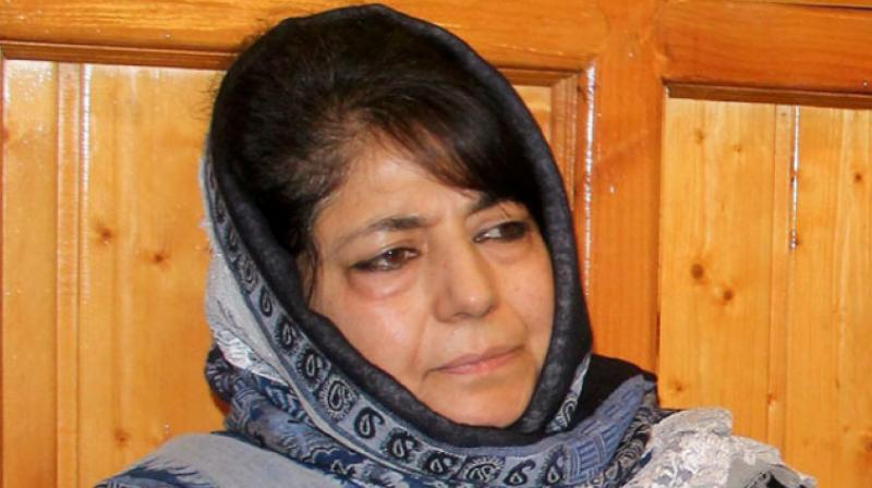 Imran Ansari accused former J&K CM Mehbooba Mufti of nepotism in the party as well as in the PDP-BJP coalition government she headed. (Photo: File/PTI)