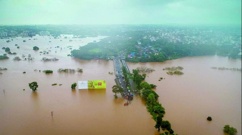 Fourteen people are feared to have drowned after an overloaded boat capsized during rescue operations in Maharashtra's flood-hit Sangli district on Thursday. The boat was carrying around 27 to 30 people when it overturned. (Photo: Representational)