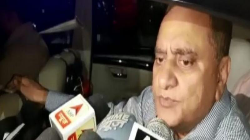 The Director-General of Police (DGP) Uttar Pradesh, OP Singh on Monday announced a reward of Rs 2.5 lakh each for facilitating arrest of two suspects who allegedly murdered Hindu Samaj Party leader Kamlesh Tiwari. (Photo: ANI)