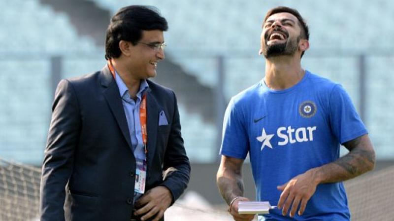 Sourav Ganguly has praised the current skipper Virat Kohli calling him a 'champion player'. (Photo: AFP)