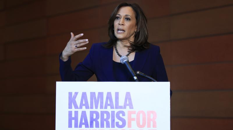 Harris, 54, who was elected to the Senate in 2016, announced her run for presidency last week (File Photo)