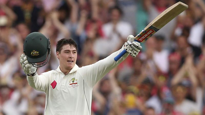 Matthew Renshaw will look to copy Matthew Hayden's record, who averaged more than 50 in Tests in India. (Photo: AP)