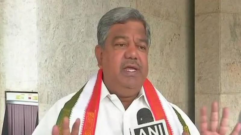 G N Reddy further added that Revanth is a Brahmos missile who will finish the TRS. (Photo: ANI)