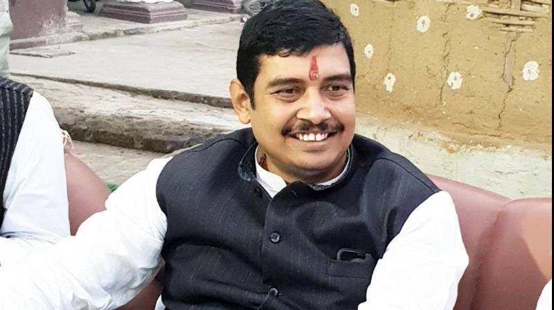 BSP candidate from Ghosi Atul Rai (Photo: Facebook)
