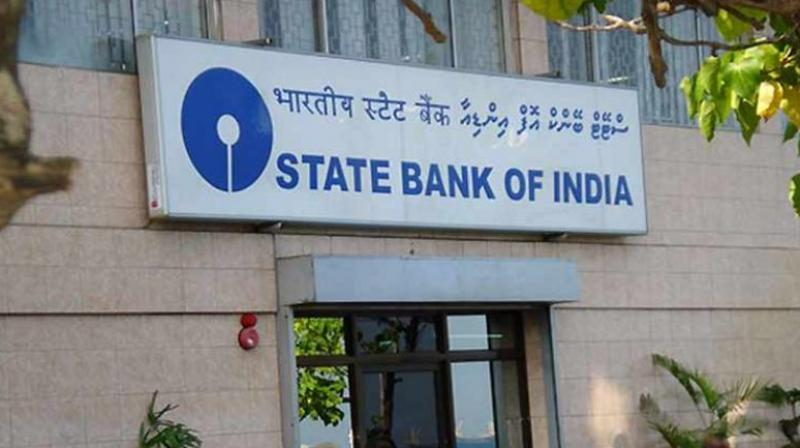 Shares of State Bank of India continued to fall for the second straight session on Monday, dropping over 3 per cent after the lender reported a hefty loss of Rs 4,876 crore for the June quarter.