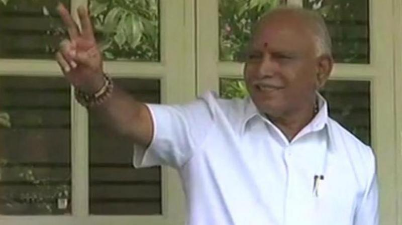 If it had, the saffron party would not now be running around trying to buy MLAs and break parties in order to shore up Mr Yeddyurappa's chances. (Photo: ANI | Twitter)