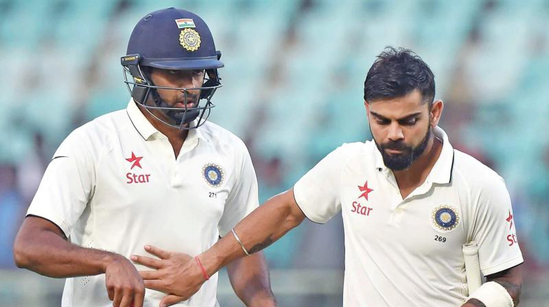 After Sachin, Dravid, and Laxman, Kohli and Ashwin have also decided to take the Tracer Bullet Challenge. (Photo: PTI)