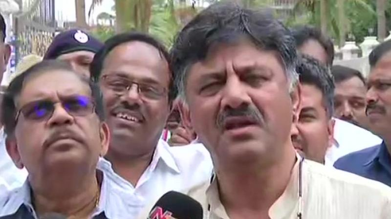 Shivakumar and his alleged associate S K Sharma were accused of transporting huge amount of unaccounted cash on a regular basis through 'hawala' channel with the help of three other accused. (Photo: ANI)