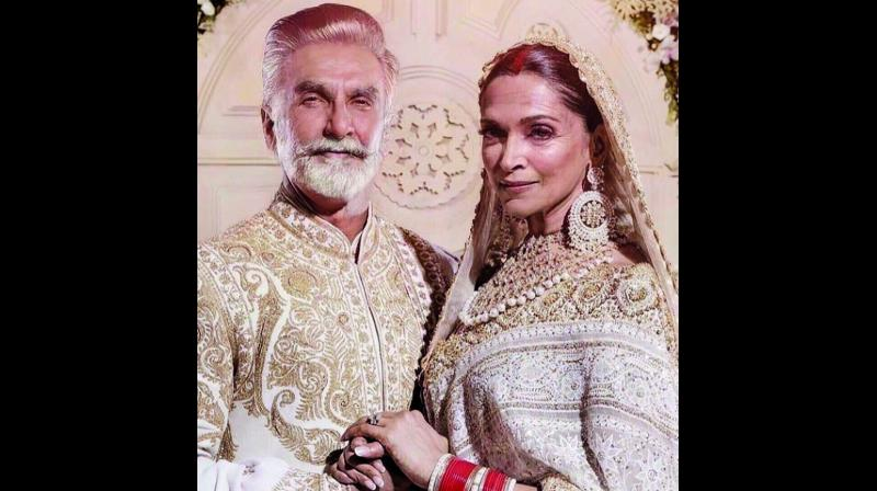 Deepika Padukone and Ranveer Singh's fan club shared a modified image of the couple.