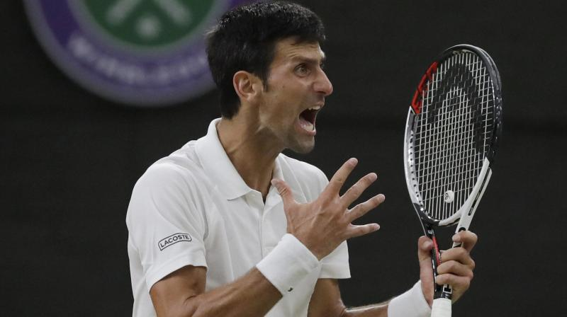 Djokovic now has 13 Grand Slams to his name. (Photo: AP)