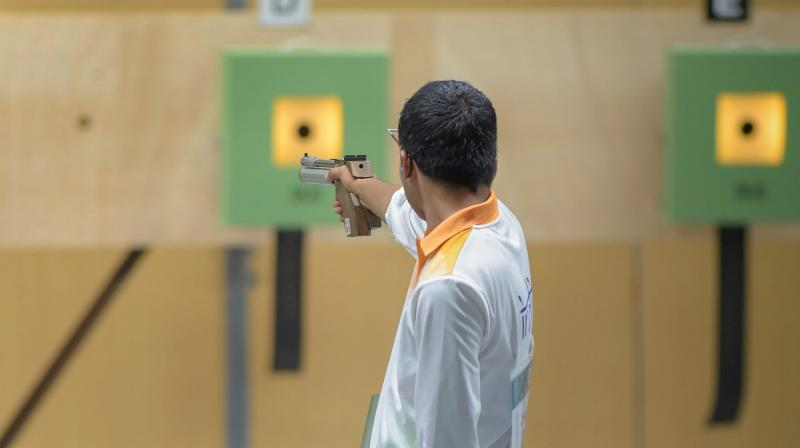 The 19-year-old Gurnihal also made the six-strong individual final, where he shot a score of 46 to claim the individual bronze, the biggest achievement of his international career so far.  (Photo: PTI)