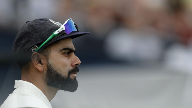 Kohli, who was top-scorer in the series with 593 runs, said India had created pressure at various times in England but had not capitalised on key moments. (Photo: AFP)