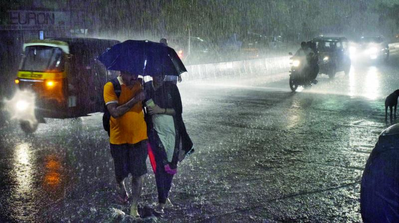 Isolated places over Coastal Andhra Pradesh, Yanam and coastal Karnataka are likely to receive heavy rainfall on Sunday, predicted the India Meteorological Department (IMD). (Representational Image)