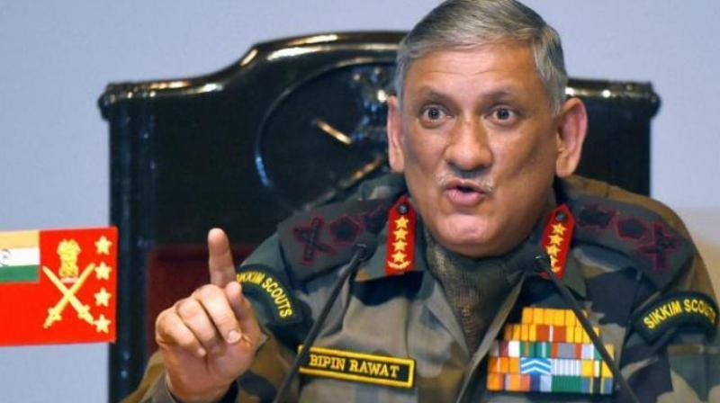 'We were the original founders of the Non-Aligned Movement. Instead of going for alliances, we have had engagement with various countries,' said General Rawat.  (Photo: PTI)