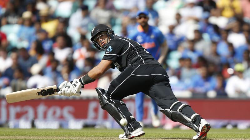 Ross Taylor then top scored with 71 as the 2015 finalists coasted to 180-4 in 38 overs. (Photo:AFP)