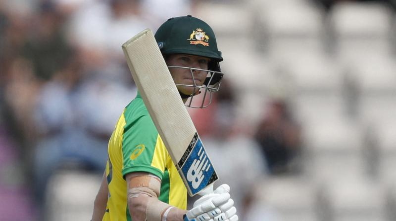 Smith scored 89 not out and 91 not out against New Zealand in warm-up games in Brisbane earlier this month before scoring 116 from 102 balls on Saturday. (Photo:AP/PTI)