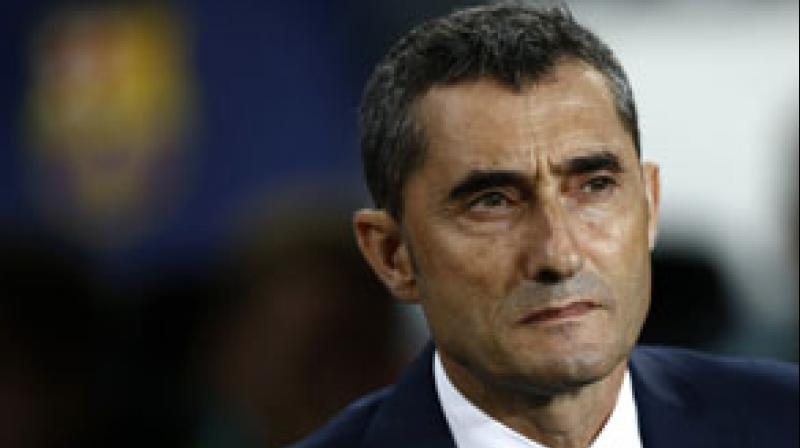 Stinging from their humiliating 4-0 loss to Liverpool in the Champions League semi-final second leg, Barca were bidding to win the Cup for the fifth year in a row but defeat by Valencia raised more doubts about Valverde's future. (Photo: AP)