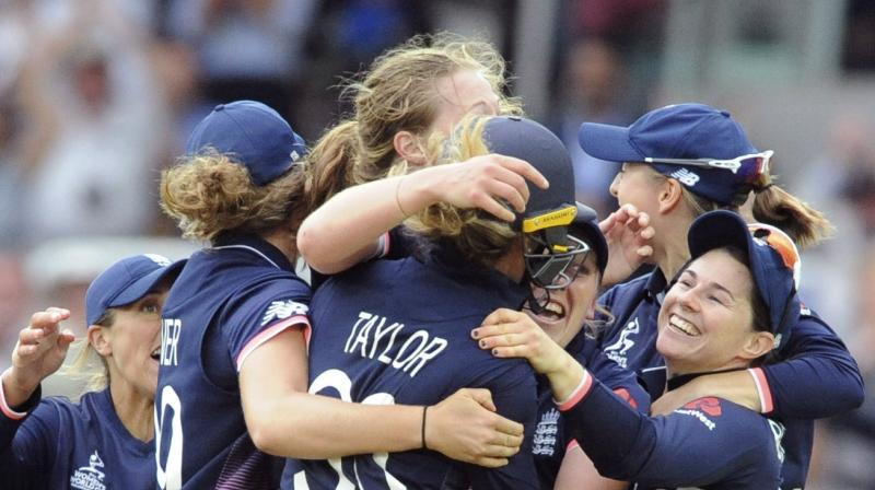 England defeated India by 9 runs to win the World Cup title. (Photo: AP)