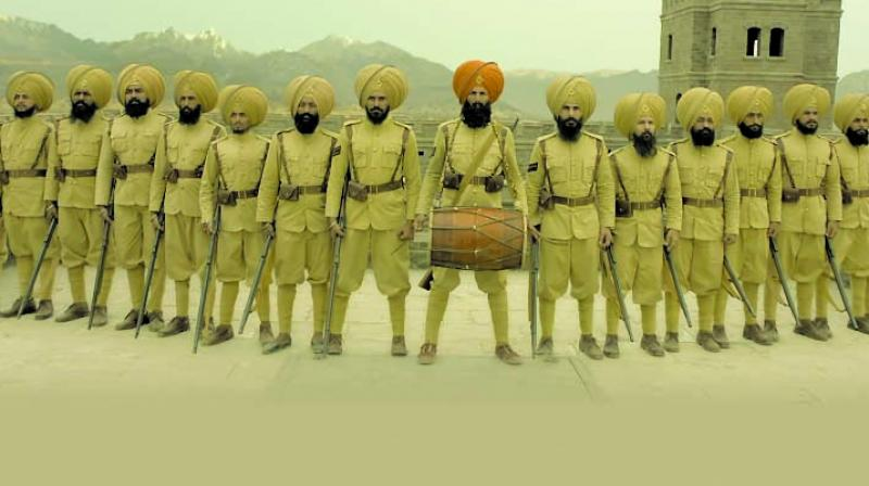 Akshay Kumar starrer Kesari, which is on its way to accruing Rs 100 crore at the box office.