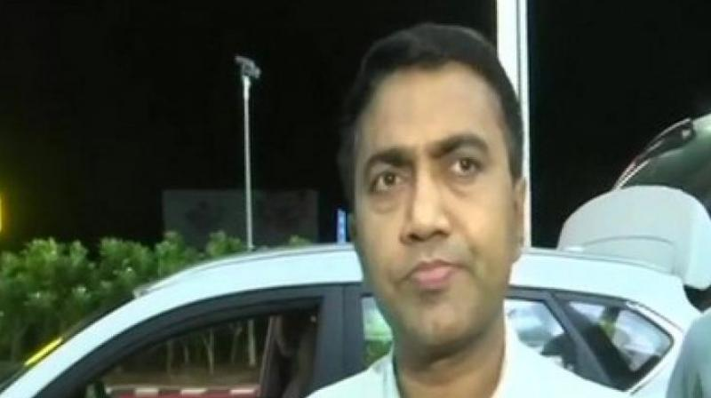 Chandrakant Kavlekar, who was earlier leader of the opposition, would be designated as deputy chief minister, Sawant told reporters here on Sunday, but refused to divulge any further details. (Photo: ANI)