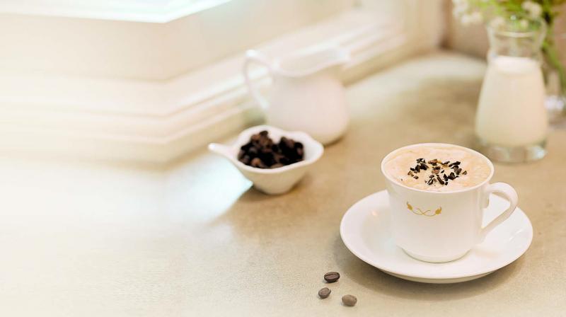 Moka dessert chai at Brooke Bond Taj Mahal Tea House