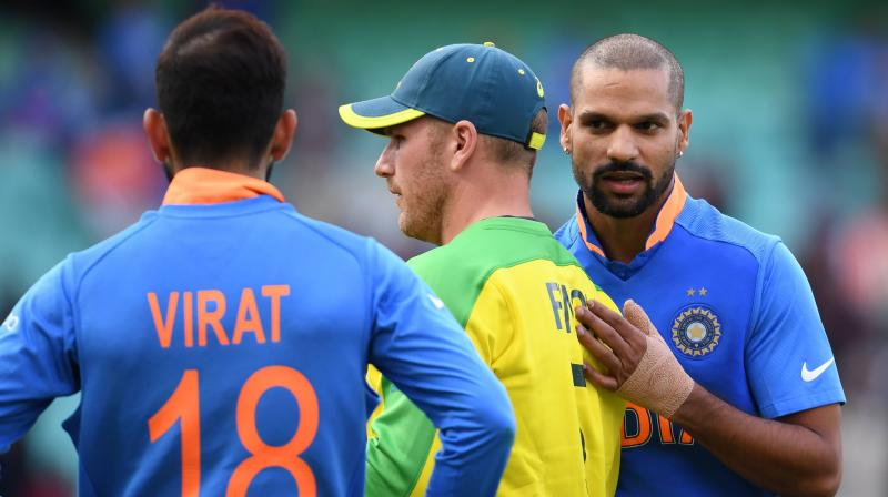 In reply, Australia never looked like getting there as they managed only 316 in 50 overs with Steve Smith (69 off 70 balls) and David Warner's (56 off 84 balls) half-centuries being of little consequence. (Photo: AFP)