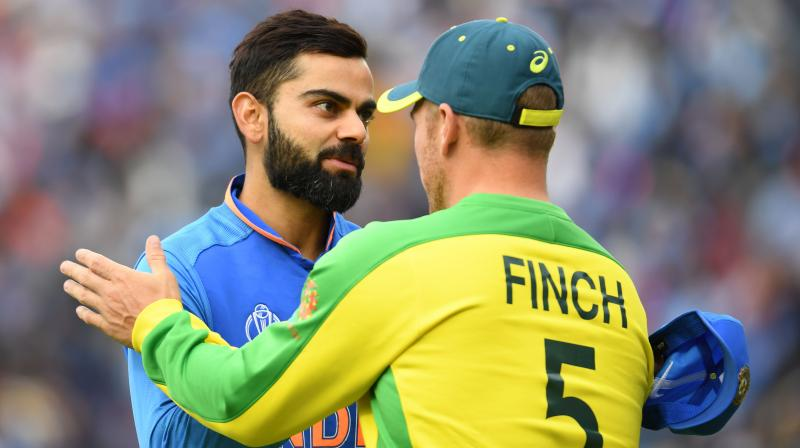 Australian captain Aaron Finch admitted that his bowlers conceded too many runs in the last 10 overs. (Photo:AFP)